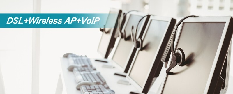 xDSL Wireless AP VoIP Series