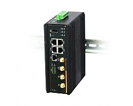 Industrial PoE 4G Router with 4 Gigabit PoE+ Ports