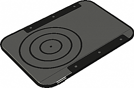 QST015B- Under The Table Qi Wireless Charger