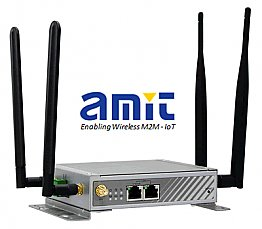 Amit VHG760-D Dual Sim 4G Vehicle Router, E-Mark Captive Portal, Hotspot ready  WiFi & GPS