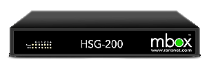 HSG-200 - On Premise WiFi Hotspot Captive Portal/Radius/AAA Server up to 200 users