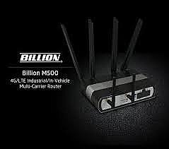 M500-D – Dual SIM Dual 4G LTE Modem Router (Active+ Active) Failover/ fallback with WiFi and Optional GPS / BEC Cloud Management