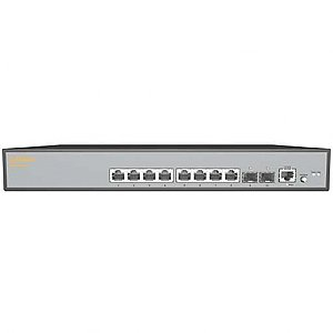 IgniteNet Cloud FusionSwitch PoE 10-Port L2 Gigabit Ethernet Access / Aggregation Switch with 2 x 1G Uplinks