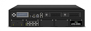 LOG-3000 - High performance Syslog server, 8GE 2TB HDD up to 2 million logs per hour