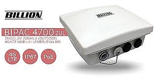 BiPAC 4700ZUL-OM Rugged 4G LTE IP67 Outdoor CPE with 2 x Omni Antenna for quick installation
