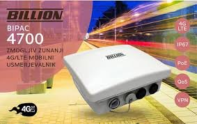 BiPAC 4700ZUL Rugged 4G LTE IP67 Outdoor CPE with high gain 11.5dBi Directional Antenna up to 20km distance