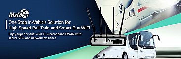 M500 –  In Vehicle BUS Captive Portal 4G LTE Dual Sim/Dual Modem WiFi GPS Router for M2M/In-Vehicle 11n WiFi Hotspot FB Login/Data Mining